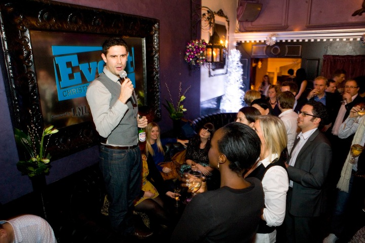 Stand Up Comedy - Jewel Bar Covent Garden 2011