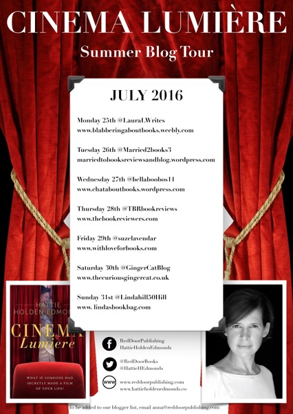 Cinema Lumiere blog tour poster
