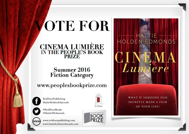 Cinema Lumiere vote for book prize