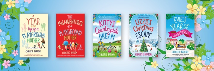 Christie Barlow Books Banner