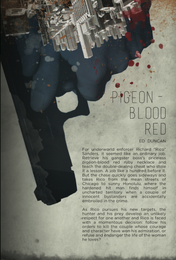 Pigeon-Blood Red Back cover