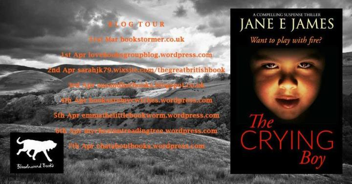 The Crying Boy blog tour banner