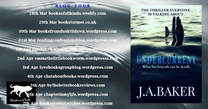 Undercurrent blog tour banner