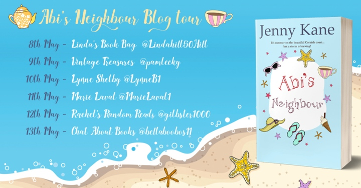 Abi's Neighbour blog tour banner