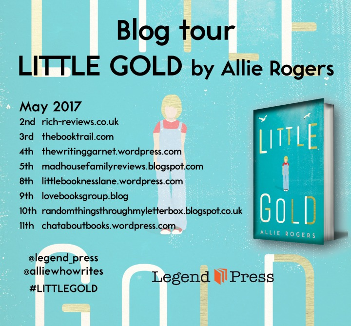 Little Gold Blog Tour Banner