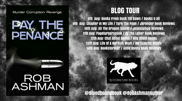 Pay The Penance blog tour banner