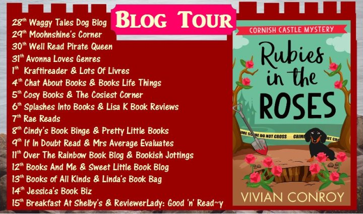 Rubies in the Roses blog tour banner