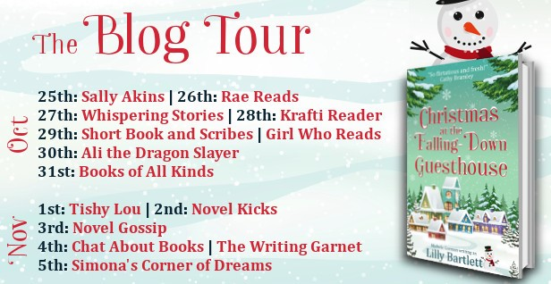 Christmas at the Falling-Down Guesthouse blog tour