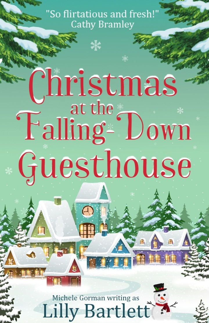 Christmas at the Falling-Down Guesthouse cover