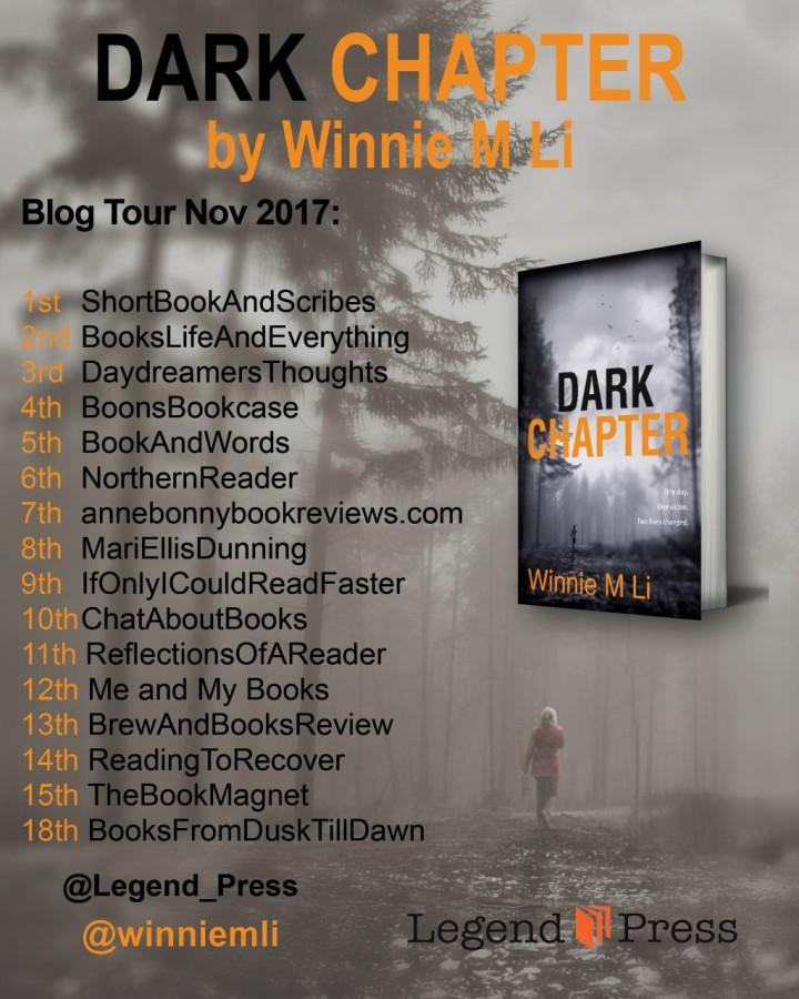 Dark Chapter blog tour