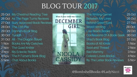 December Girl blog tour