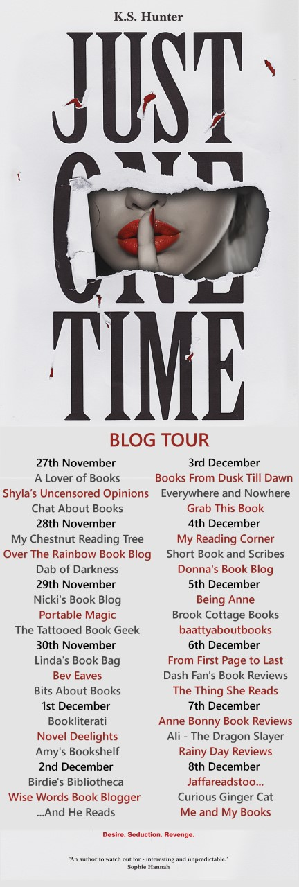 Just One Time blog tour