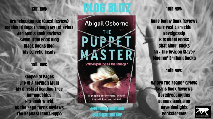 The Puppet Master blog tour