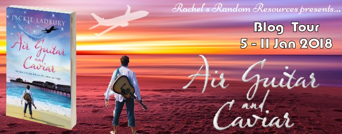 Air Guitar and Caviar blog tour banner