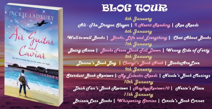 Air Guitar and Caviar blog tour