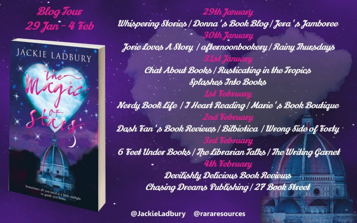 The Magic of Stars blog tour