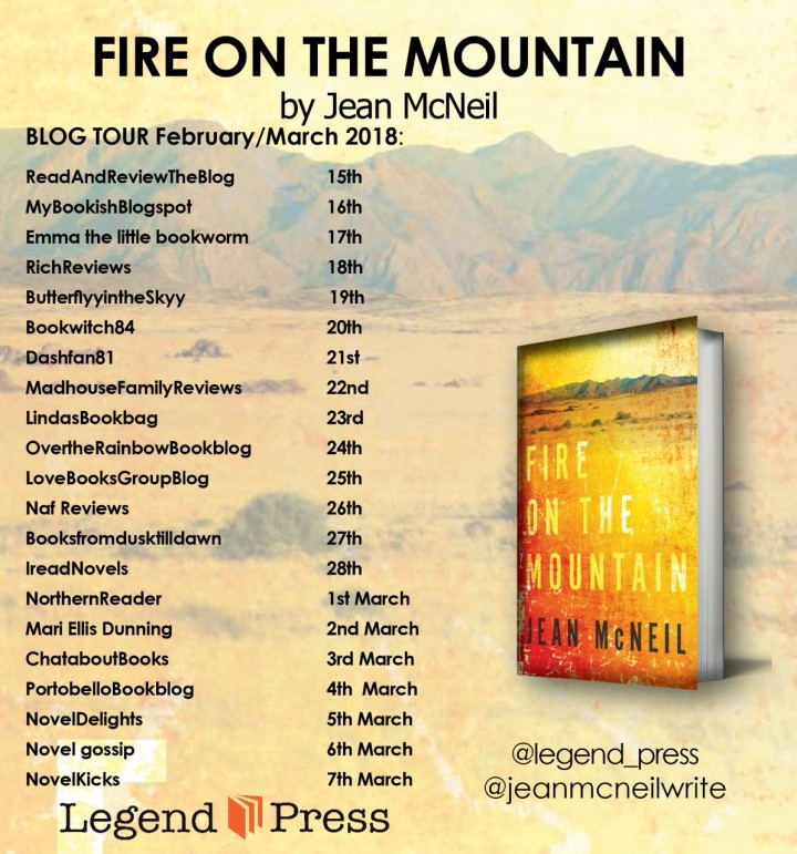 Fire On The Mountain blog tour