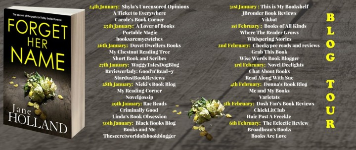 Forget Her Name blog tour