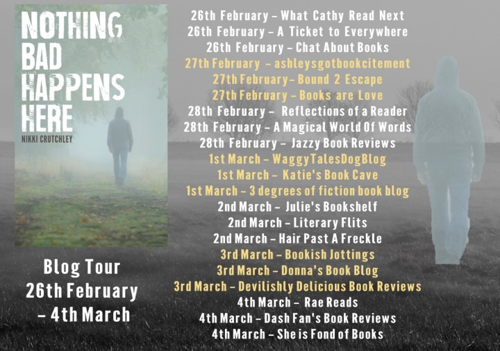 Nothing Bad Happens Here blog tour