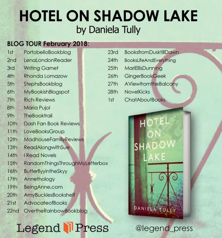 Hotel On Shadow Lake blog tour