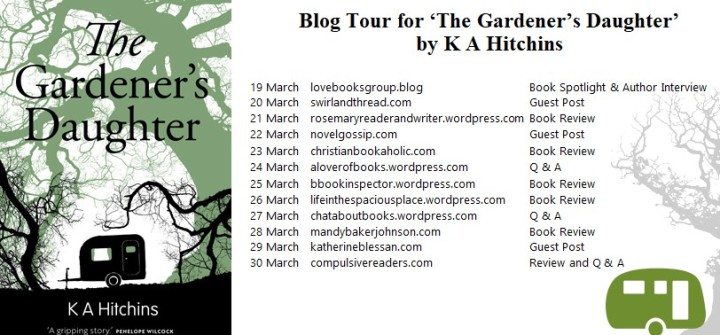The Gardener's Daughter blog tour