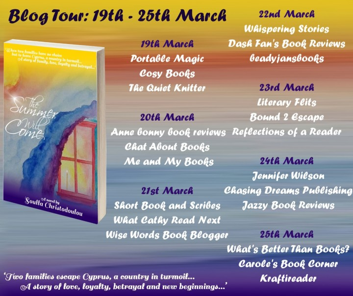 The Summer Will Come blog tour