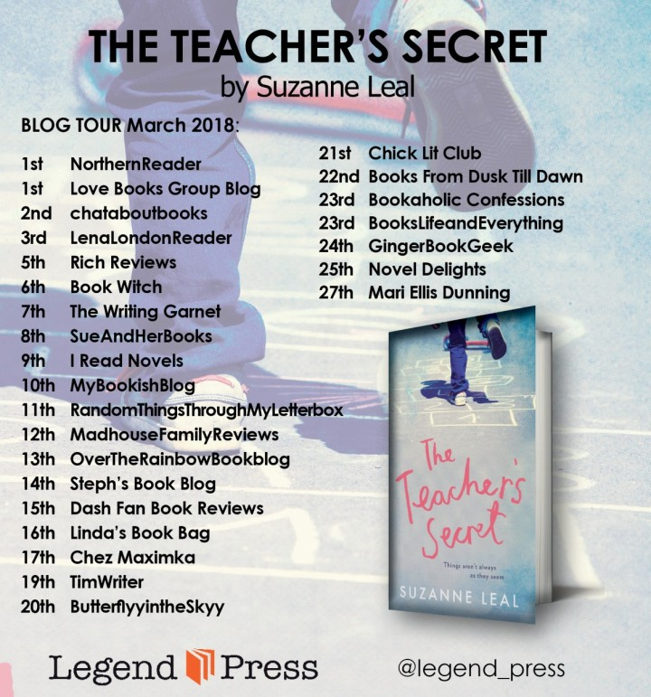 The Teacher's Secret banner