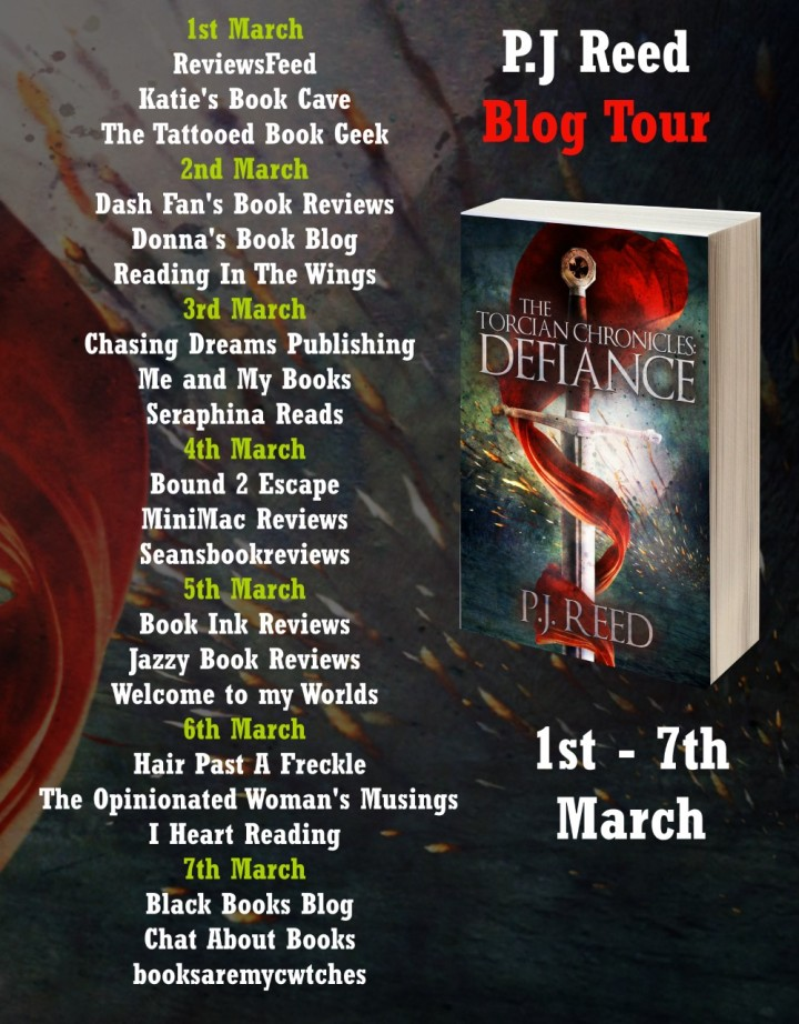 The Torcian Chronicles blog tour