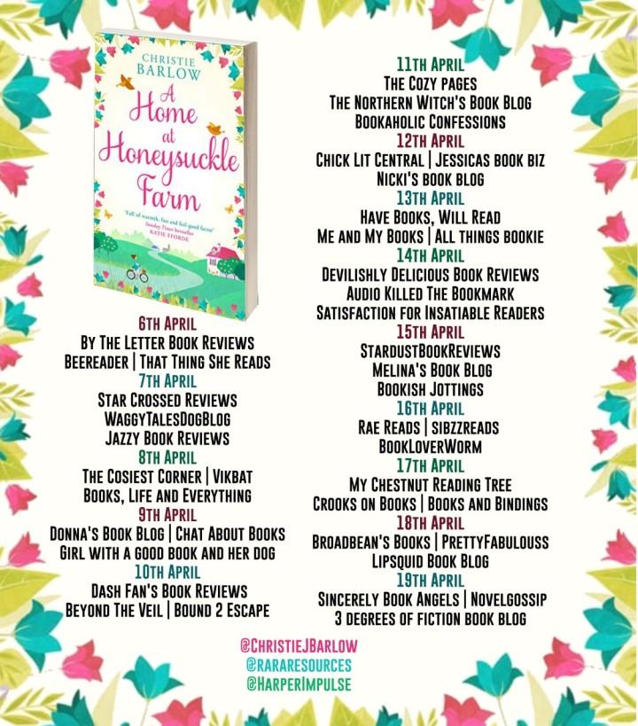 A Home at Honeysuckle Farm blog tour