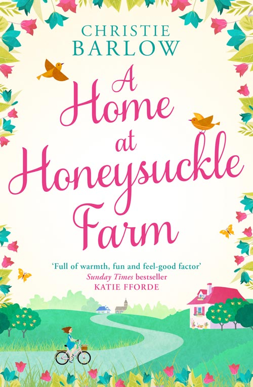 A Home at Honeysuckle Farm cover