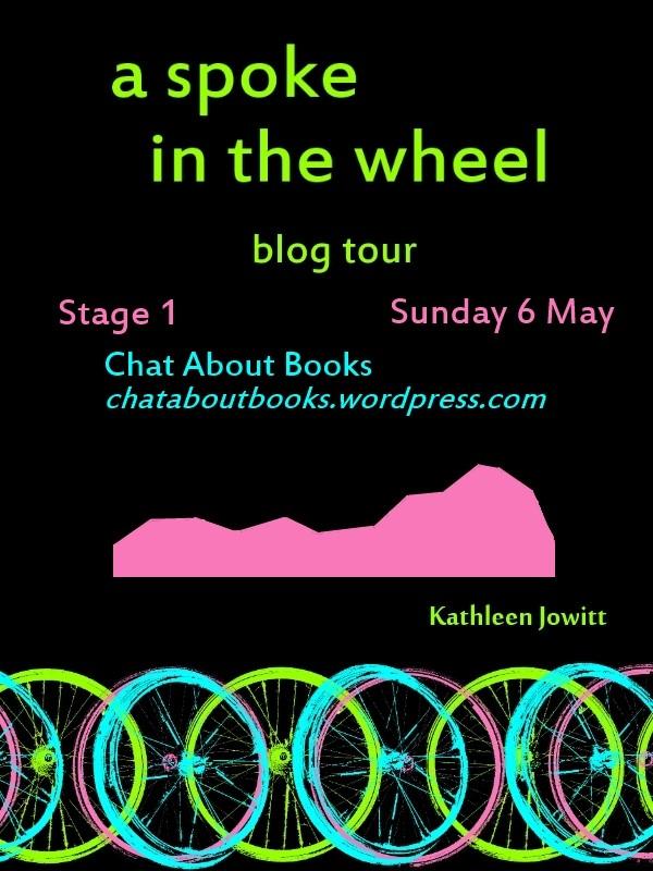 A Spoke In The Wheel blog tour me
