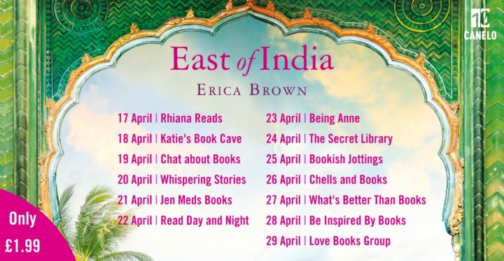East Of India blog tour