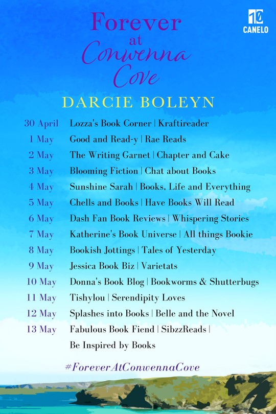 Forever at Conwenna Cove blog tour