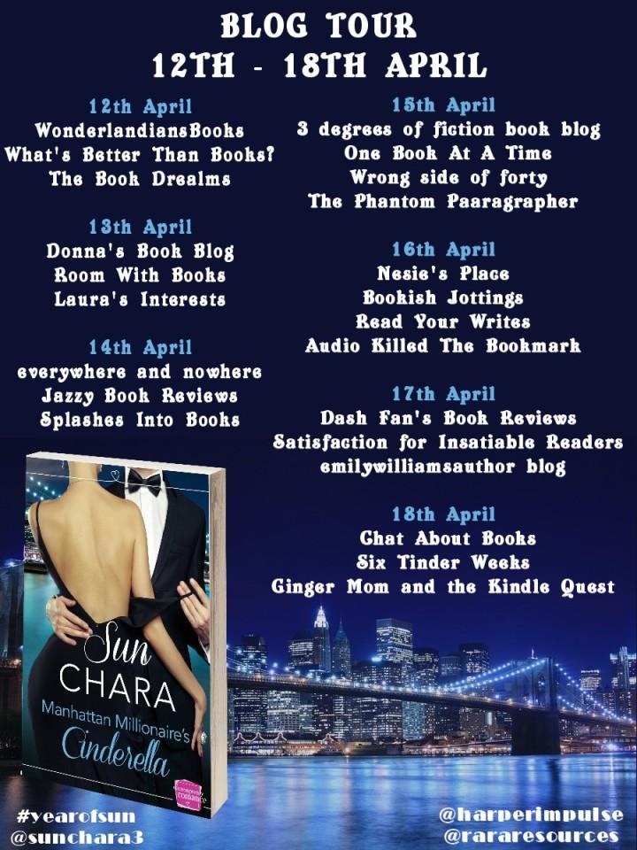 Manhattan Millionaires Cinderella blog tour