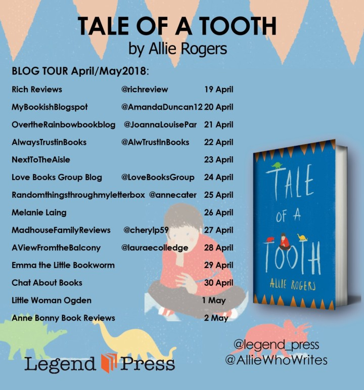 Tale Of A Tooth blog tour