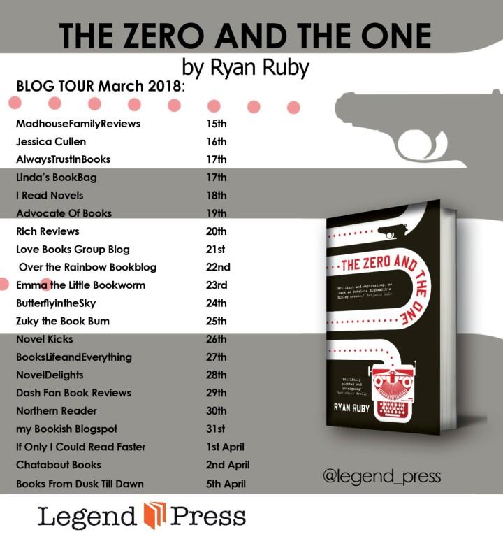 Zero and the One blog tour