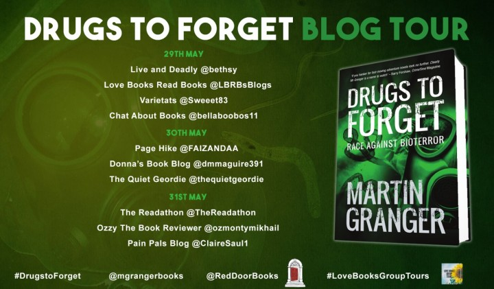 Drugs To Forget blog tour