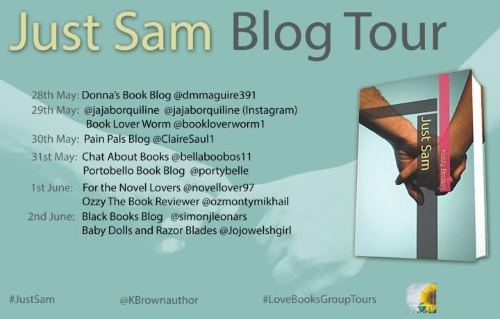 Just Sam blog tour