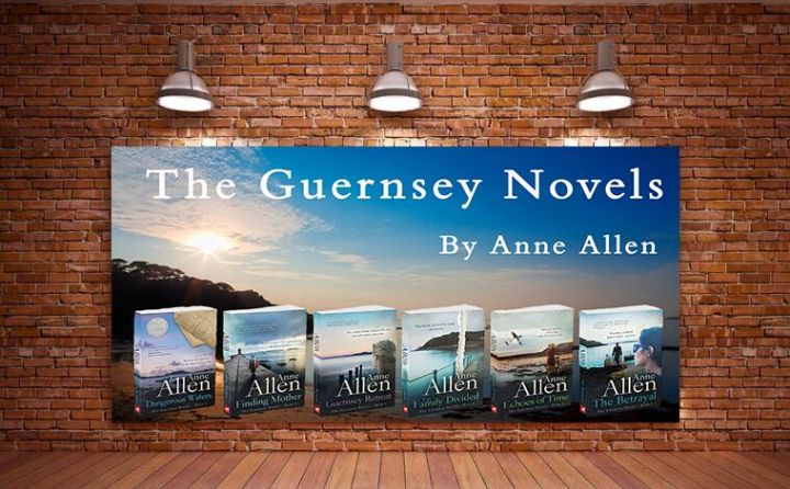 The Guernsey Novels banner