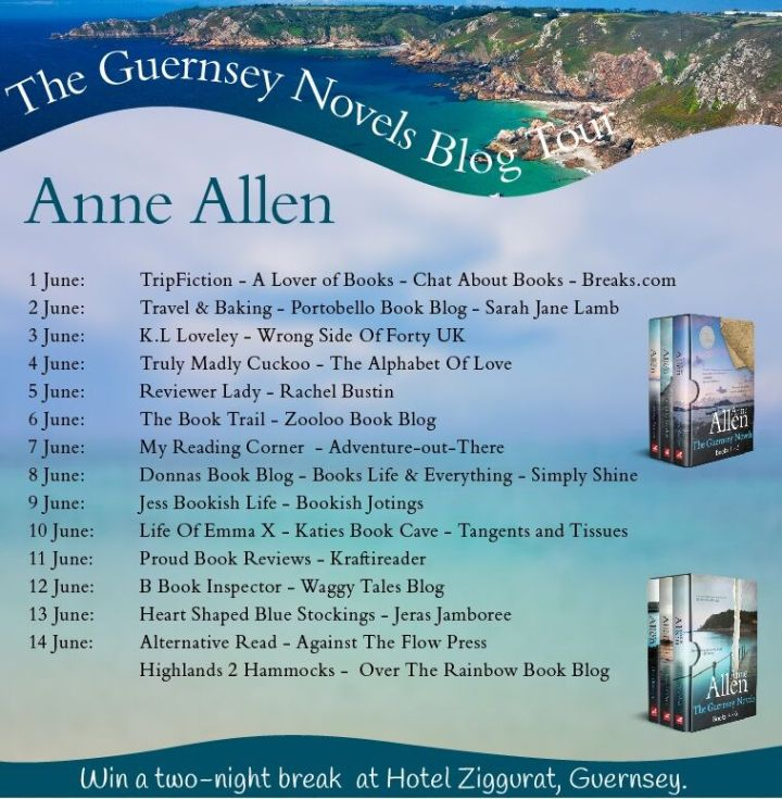 The Guernsey Novels blog tour