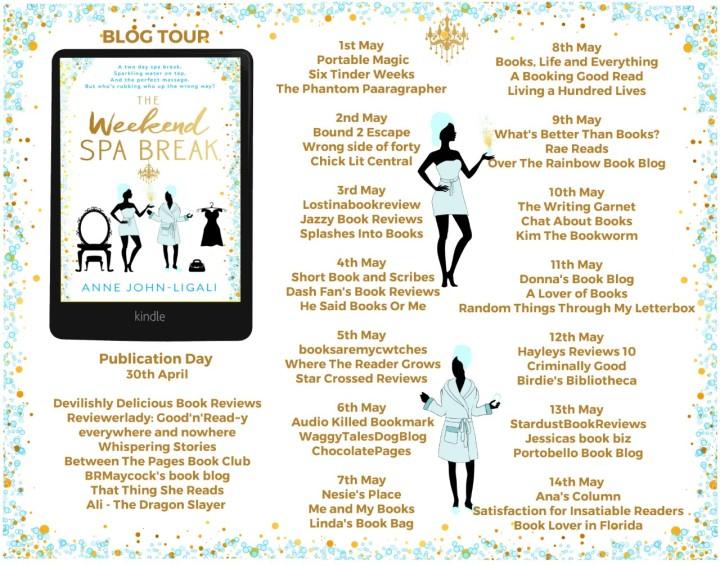 The Weekend Spa Break blog tour