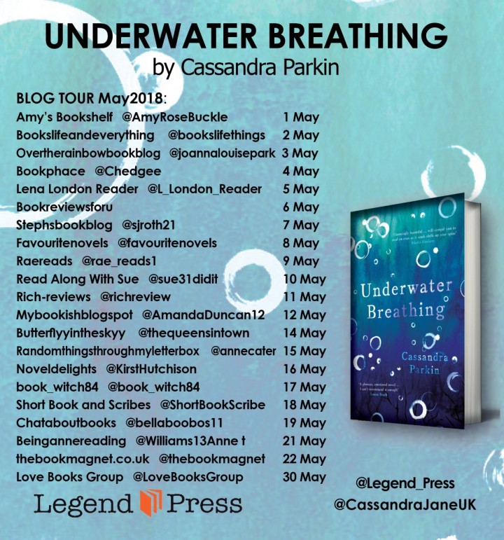 Underwater Breathing blog tour