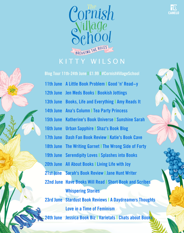 The Cornish Village School blog tour