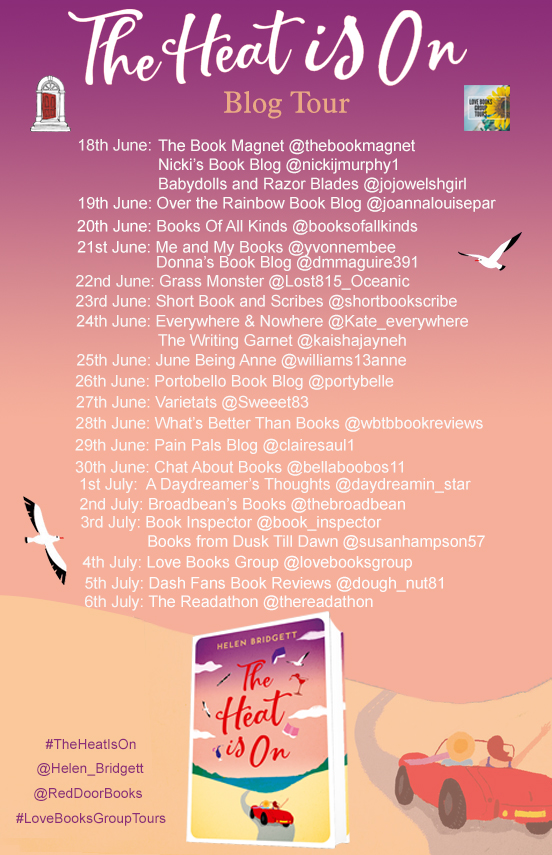 The Heat Is On Blog Tour
