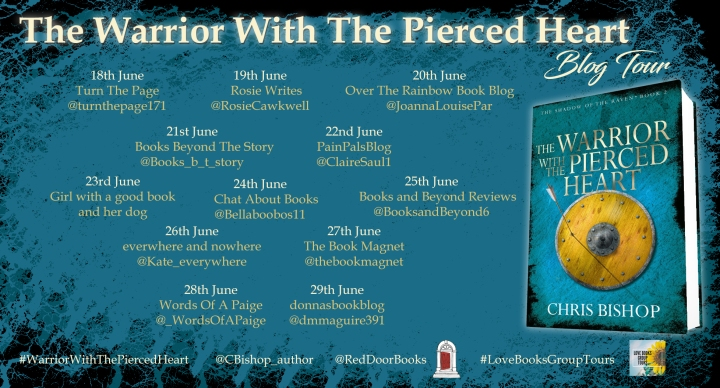 The Warrior with the Pierced Heart blog tour