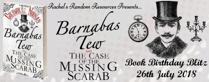 Barnabas Tew and the Case of the Missing Scarab banner