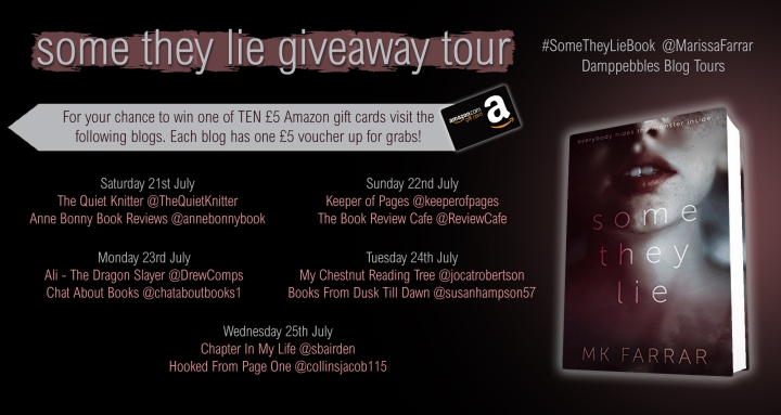 Some They Lie Giveaway tour