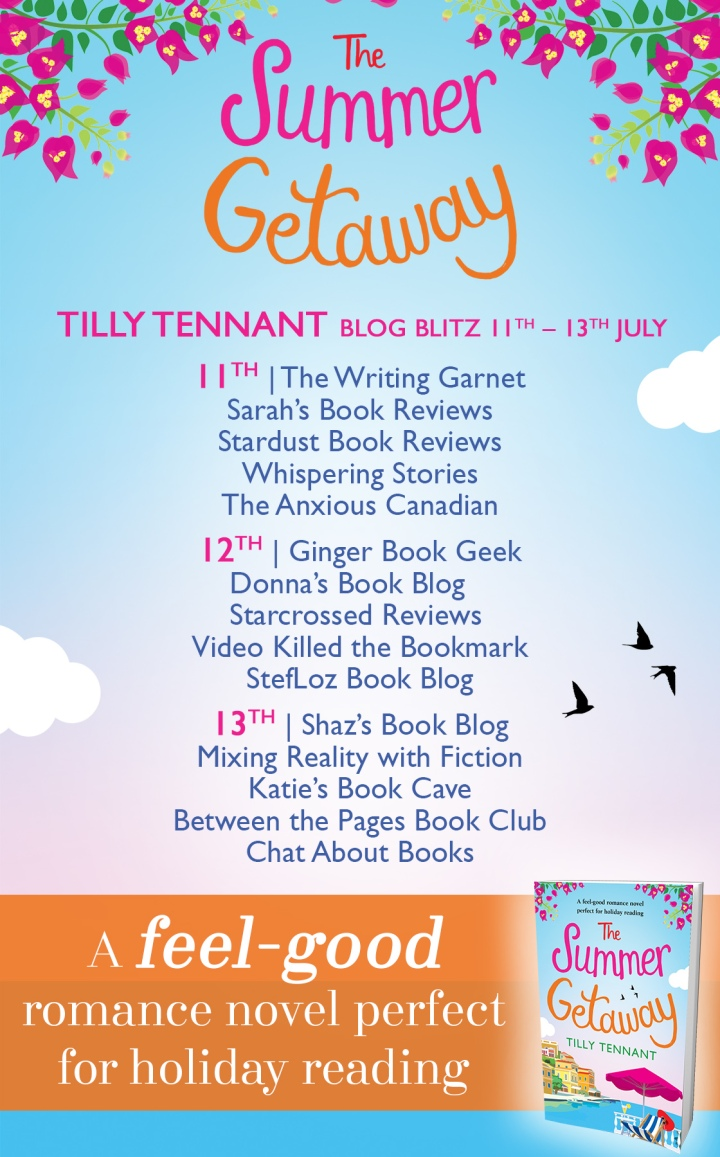 The Summer Getaway - Blog Tour