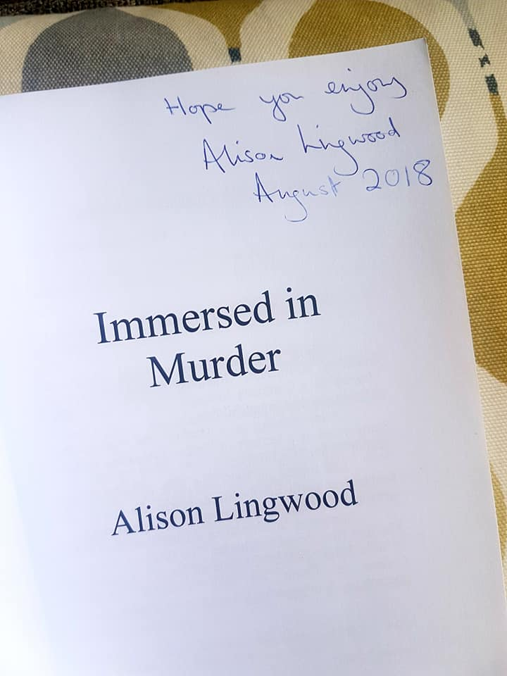 Immersed in Murder signed
