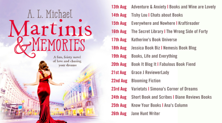 Martinis and Memories Blog Tour